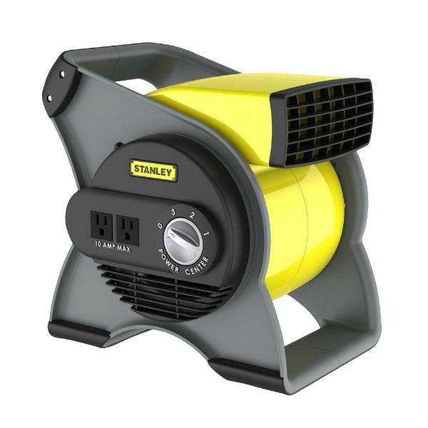 Stanley® 655704 High Velocity Multi-Purpose Pivoting Blower Fan, 3-Speed