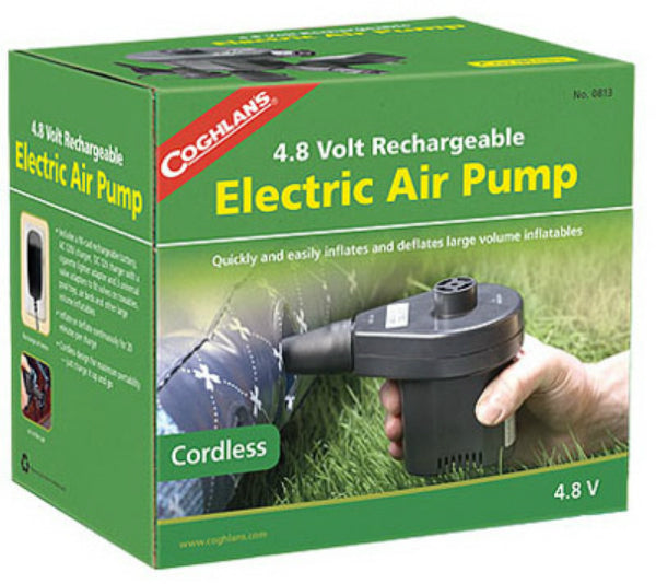 Coghlan's 0813 Rechargeable Air Pump, 4.8 Volt