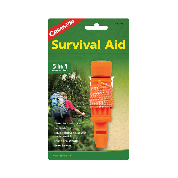 Coghlan's 8634 Survival Aid, 5-In-1