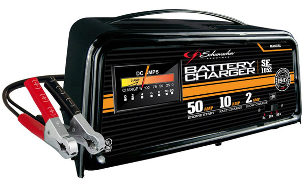 Schumacher Battery Charger Manual >> Schumacher® SE-1052 Manual Battery Charger with Engine ...