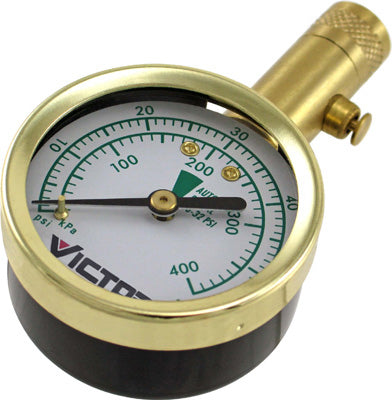 Victor Automotive 00881-8 Pro Dial Tire Gauge With Bleeder