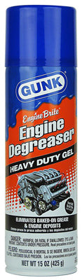 Gunk® EBGEL Engine Brite Heavy-Duty Engine Degreaser Gel, 15 Oz