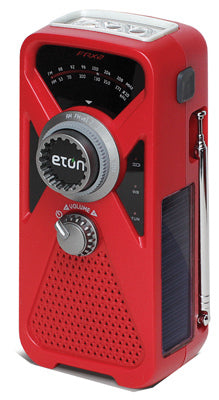 Eton ARCFRX2WXR American Red Cross Solar/Hand Turbine Power AM/FM Weather Radio