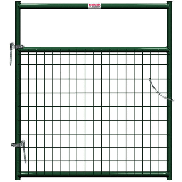 Behlen 40132042 Wire-Filled Gate, Green, 4'