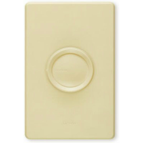 Lutron® D-603PGH-DK 3-Way 2-Knob Dimmer, 600W, White & Ivory
