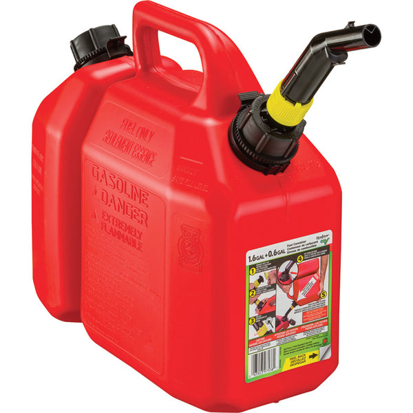 Scepter 05088 Chain Saw Gas/Oil Combo Can, Red ...