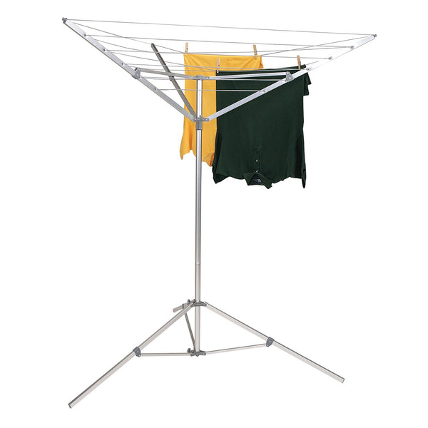 Household Essentials P1900 Tripod Portable Umbrella Clothesline Dryer, 64'