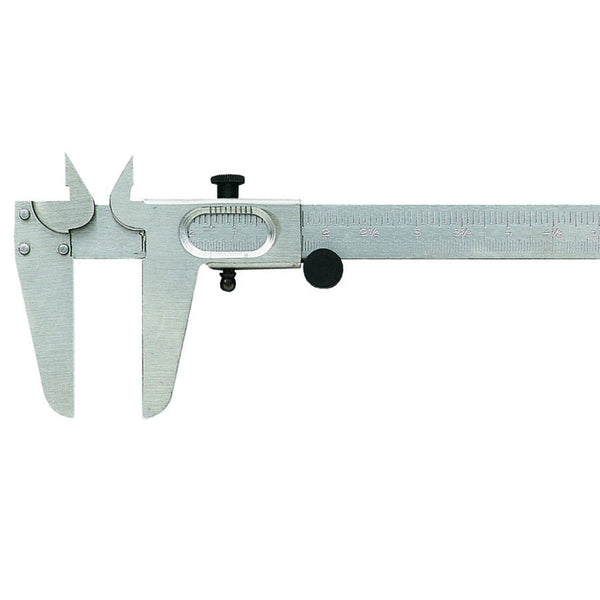 "General Tools 722 Metric & English Vernier Caliper, 0 to 5"" Range"