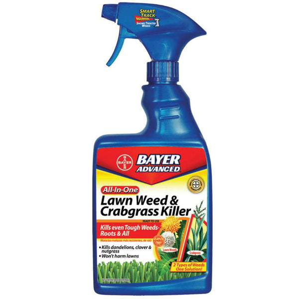 Bayer Advanced™ 704125A All-In-One Lawn Weed & Crabgrass Killer, 24 Oz