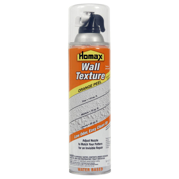 Homax® 4092-06 Aerosol Wall Texture Water-Base Orange Peel, 20 Oz