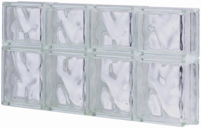 "Pittsburgh Corning 103173 Decora Solid Glass Block Window, 32"" x 14"""