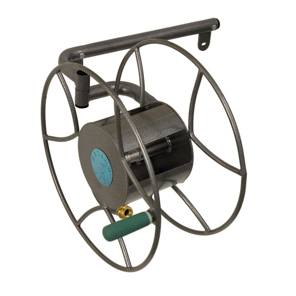 Yard Butler™ SRWM-180 Wall-Mount Swivel Hose Reel, 180-Degrees, 100' Capacity