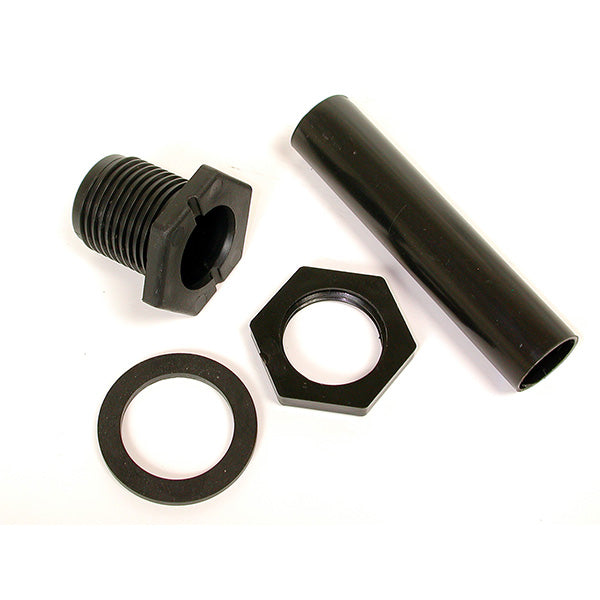 Dial Mfg 9249 Non-Threaded Poly Drain Kit for Evaporative Cooler, 3/4""