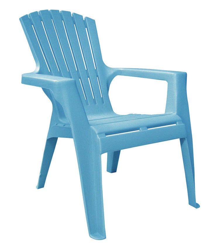 Adams 8460-21-3731 Kids Adirondack Chair, Pool Blue