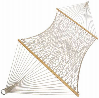 "Castaway Hammocks PC-14CW Deluxe Rope, 60"" x 82"""