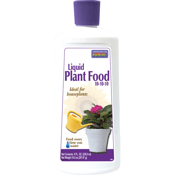 Bonide® 108 Liquid Houseplant Food, 10-10-10, 8 Oz