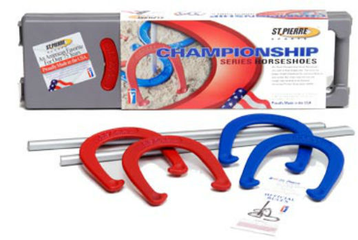 St Pierre™ RC5 Royal Classic Championship Series Backyard Horseshoes Set