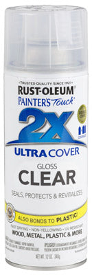 Rust-Oleum® 249117 Painter's® Touch 2x Spray Paint, 12 Oz, Gloss Clear