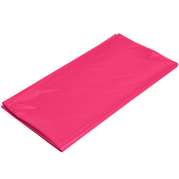 Creative Converting Plastic Banquet Table Cover Hot Magenta 54 x 108 54 x 108 01413