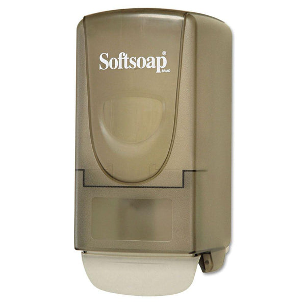 Softsoap® 01946 Deluxe Liquid Soap Dispenser with Gentle Push Bar, 800 ml