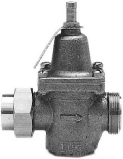 Watts® LFN45BM1U Lead Free Water Pressure Reducing Valves,1/2""