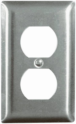 Pass & Seymour SS8CC50 Stainless Steel Duplex Wall Plate, 1 Gang