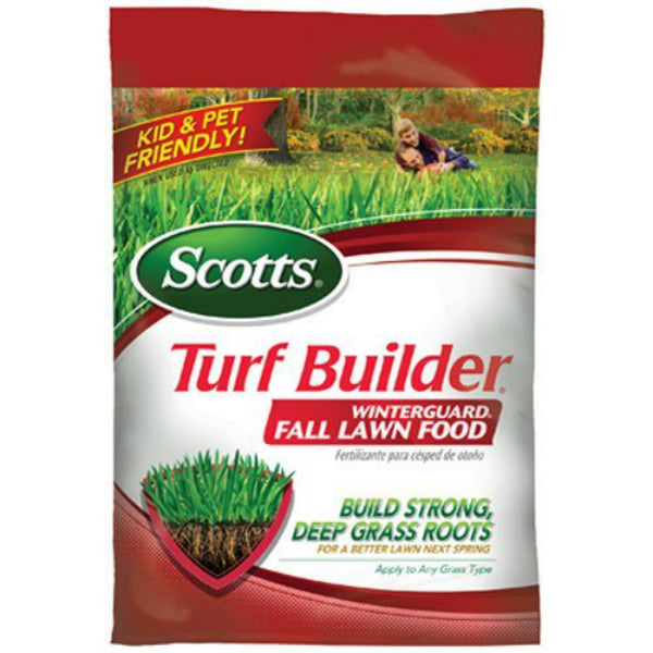 Scotts 38605D Turf Builder WinterGuard Fall Lawn Food, 32-0-10, 5000 Sq.ft.