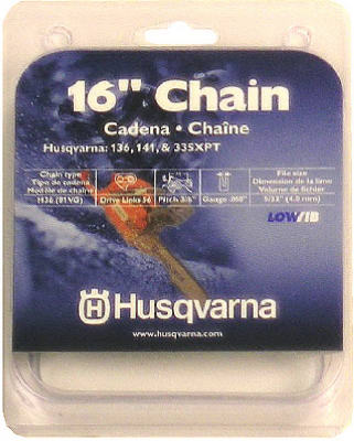 Husqvarna 531300446 Low Profile Replacement Chain, 16""