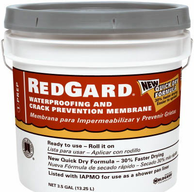 Custom Building Products LQWAF3 Red Gard Waterproofing, 3.5 Gallon