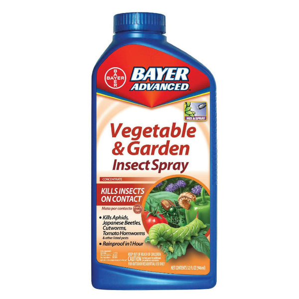 Bayer Advanced™ 701521A Vegetable & Garden Rescue Spray, Concentrate, 32 Oz