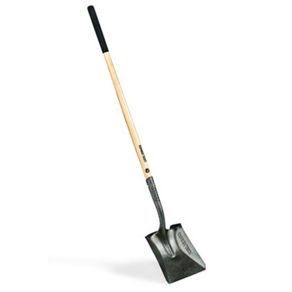 True Temper® 163119500 Square Point Shovel with Long Wood Handle