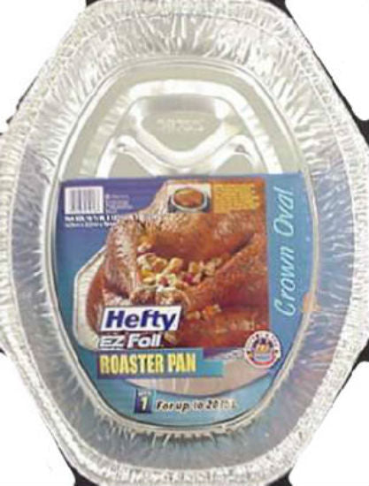 Hefty® 00Z11918 EZ Foil® Roaster, Oval Shape, Large