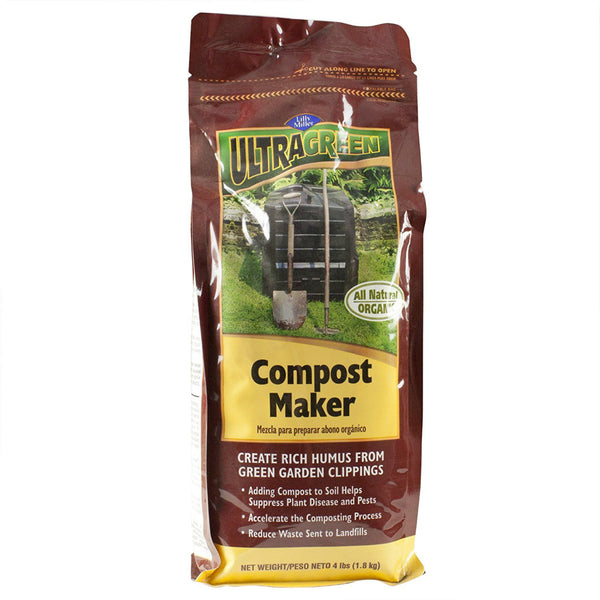 Lilly Miller® 100099419 UltraGreen® All Natural Organic Compost Maker, 4 Lb