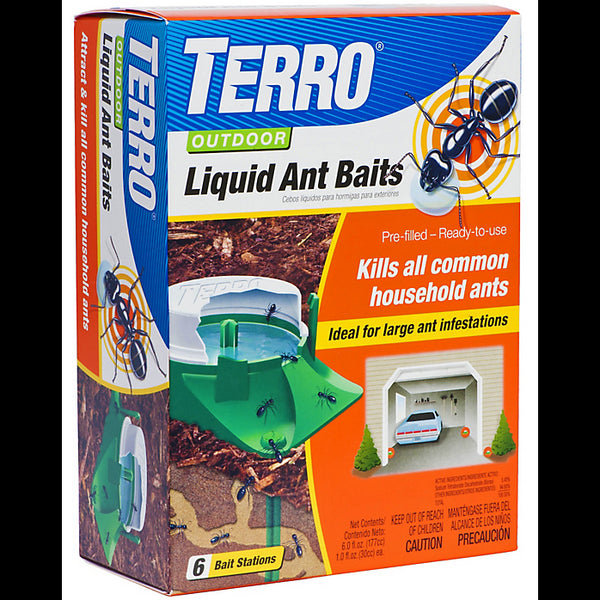 Terro® T1806 Outdoor Liquid Ant Baits, 6-Pack