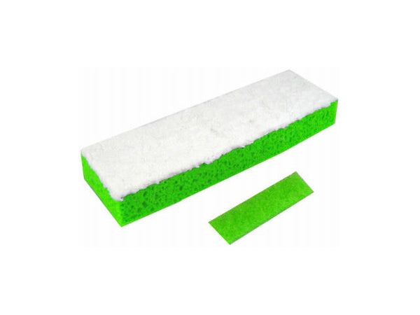 Quickie® 0442HPM Microfiber Sponge Mop Refill, Highly Absorbent