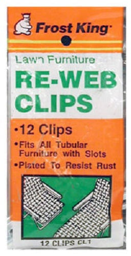 Frost King CL1 Webbing Clips, 12-Pack