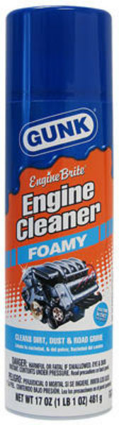 Gunk® FEB1CA Aerosol Foamy Engine Degreaser, 17 Oz