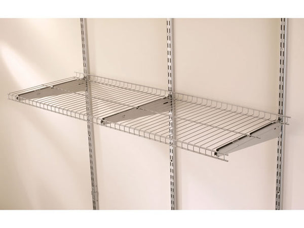 Rubbermaid® 5E21FTSNCKL FastTrack Garage Organization Wire Shelf, 4' x 16""