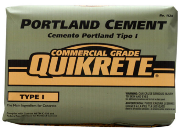 Quikrete® 112442 Commercial Grade Portland Cement, 92.6 Lbs