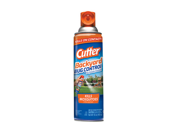 Cutter® HG-95704 Backyard™ Bug Control Outdoor Fogger, 16 Oz