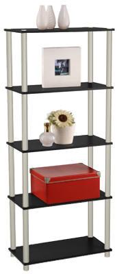 Momentum Furnishings PBF-0285-106 Book Shelf, 5-Tier