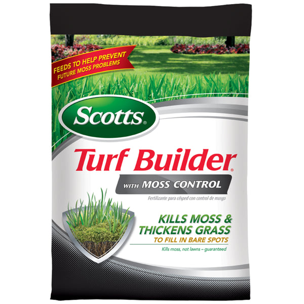 Scotts 174 38505 Turf Builder 174 With Moss Control 5 000 Sq Ft