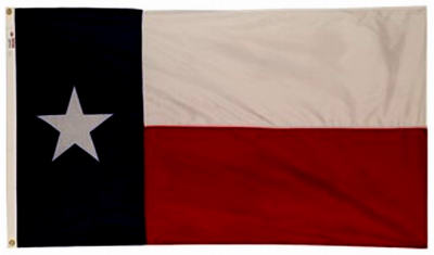 Annin Flagmakers 45265 Texas State Flag, 3' x 5'