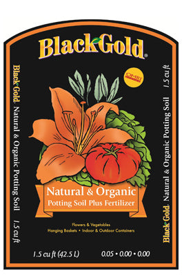 Black Gold Natural & Organic Potting Mix, 1.5 cu. ft.