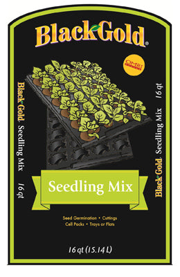 Black Gold Seedling Mix, 16 qt