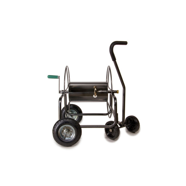 Yard Butler™ HT-4EZTURN EZ-Turn 4-Wheel Hose Reel Truck, 400' Capacity