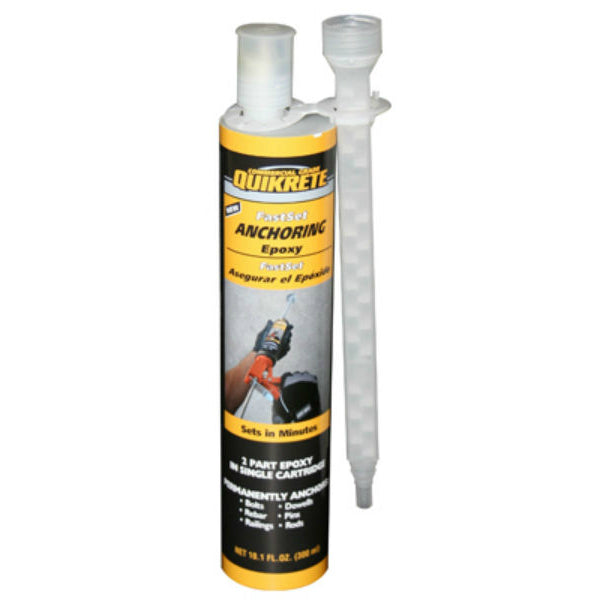 Quikrete® 8620-30 Commercial Grade FastSet™ Anchoring Epoxy, 8.6 Oz