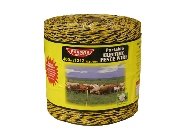 Baygard® 122 Heavy Duty Polywire, 1312', Yellow & Black