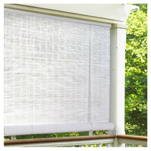 "Lewis Hyman 0320166 PVC Roll Up Blind, 72""W x 72""L, White"