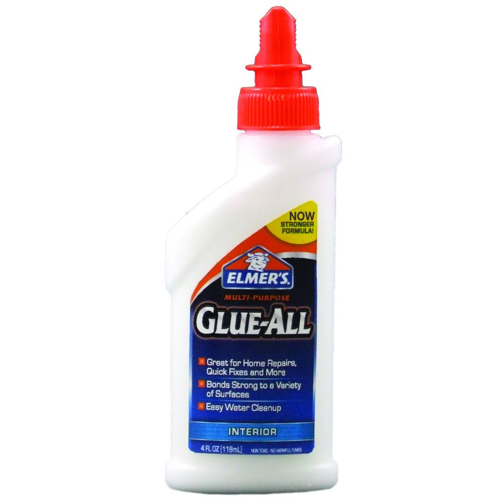 Elmer's E3810 Glue-All® Multi-Purpose Interior Glue, 4 Oz